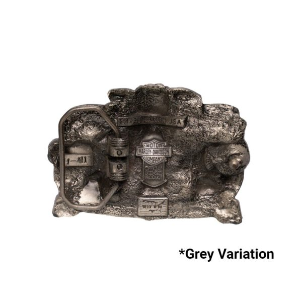 hog toys grey back