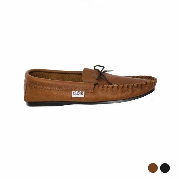 Real Leather Driving Moccasins