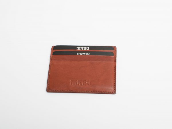 Compact Leather Card Holder With Window