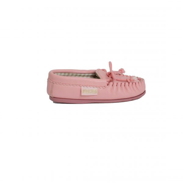 pink moccasins for babies