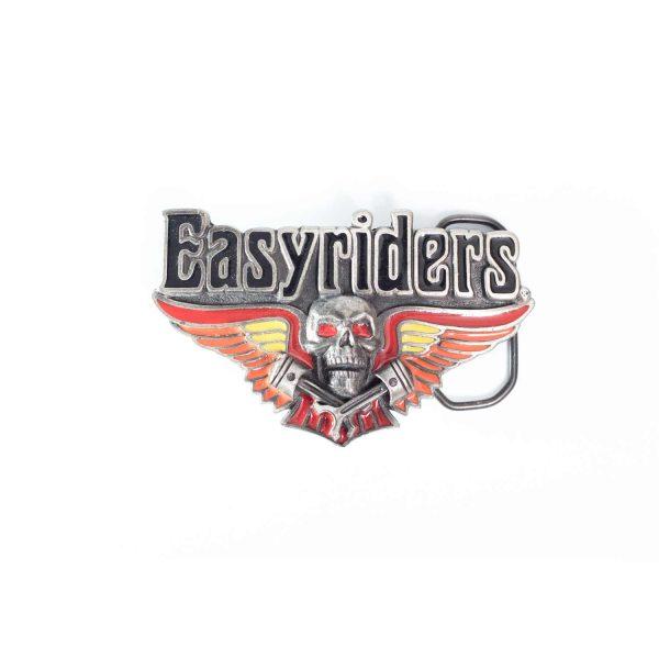 Easyriders skull and wings Buckle 2073