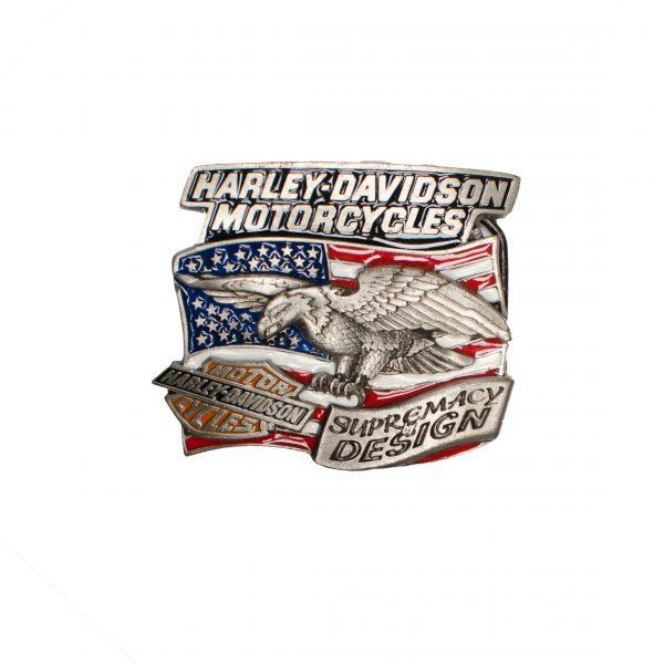 Harley Davidson Motorcycles Supremacy Design Buckle H428