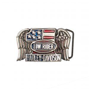 Harley Davidson Low Rider Buckle H505 1983 BARON