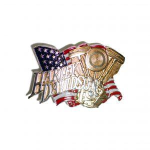 Harley Davidson Evo Engine / Chrome H527 Baron Belt Buckle