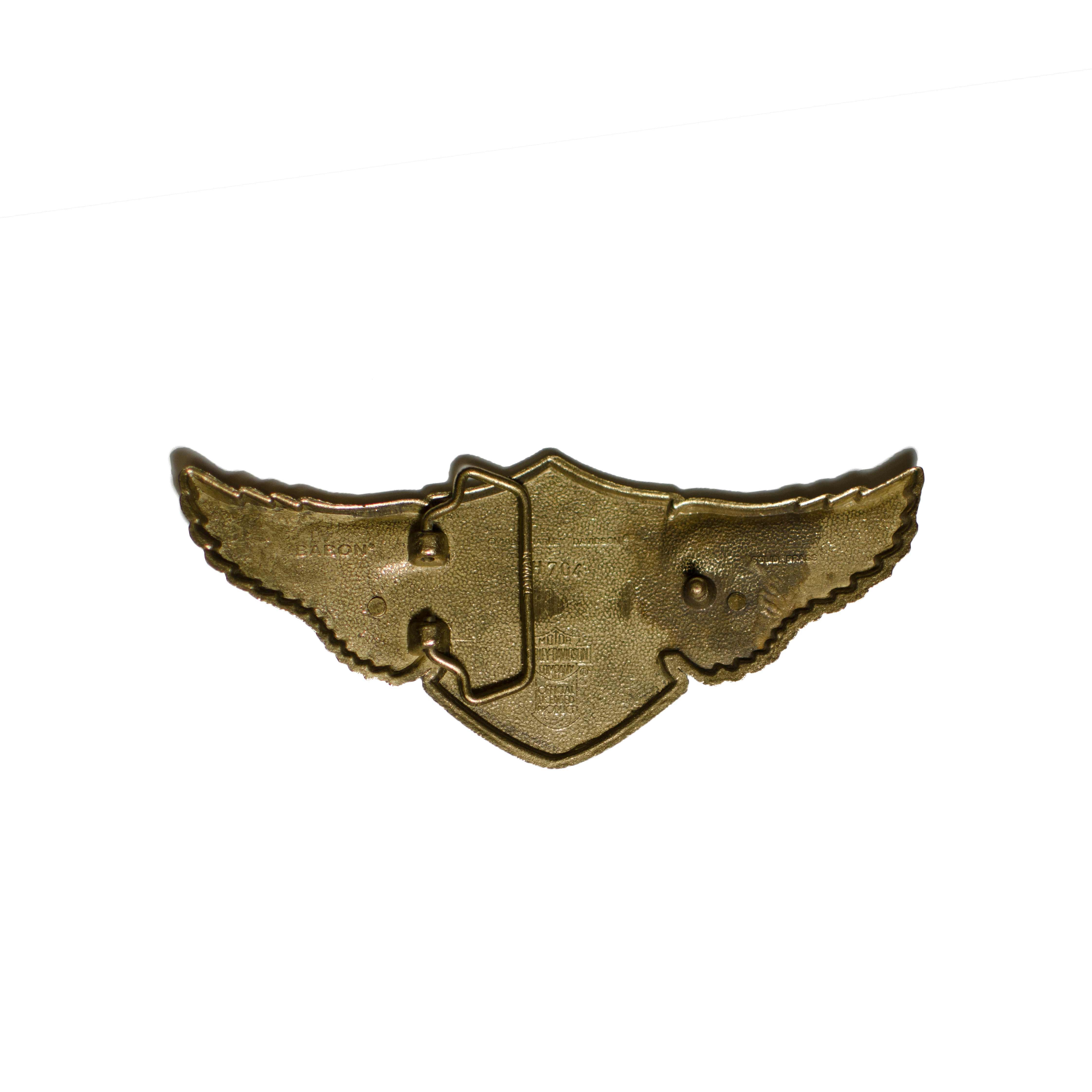 Harley Davidson Belt Buckle Baron H 704 SOLID BRASS