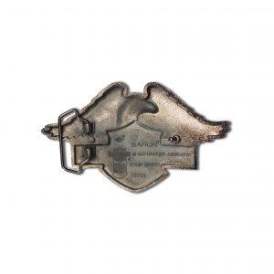 Eagle Above Harley Davidson Logo H709 Solid Brass