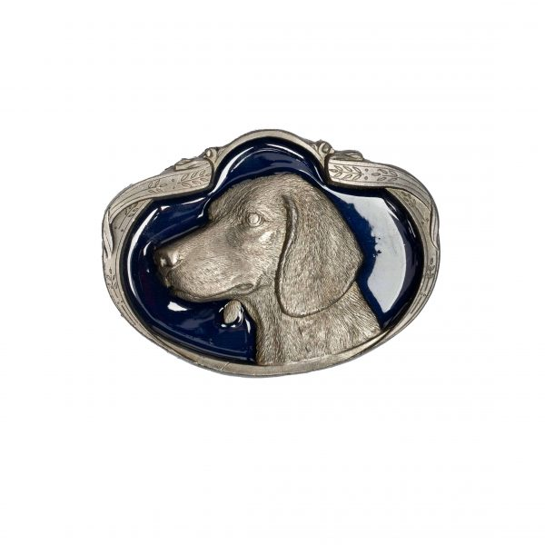 dog buckle blue