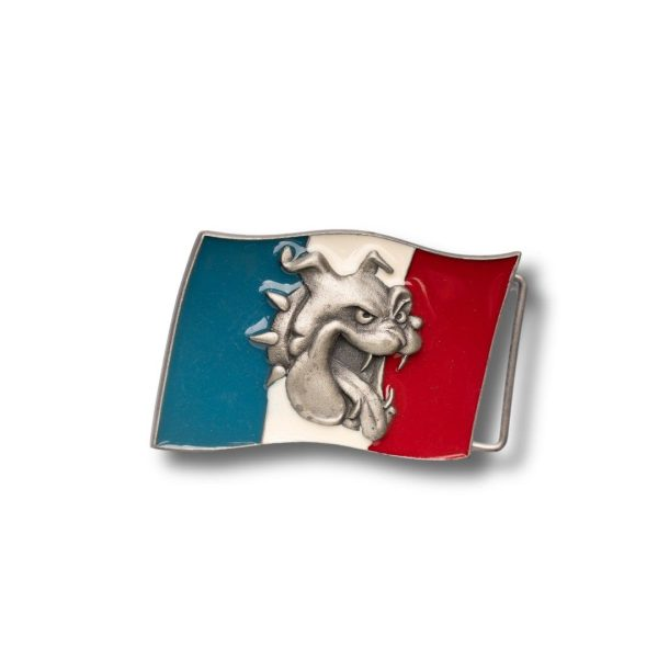 Bulldog & France Flag