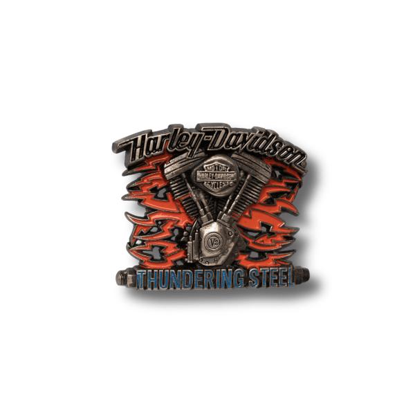 Harley Davidson Thundering Steel Buckle H534