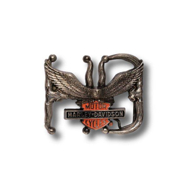 Harley Davidson HD Eagle H536 Vintage 1992 Solid Brass buckle Official Licensed Vintage buckle