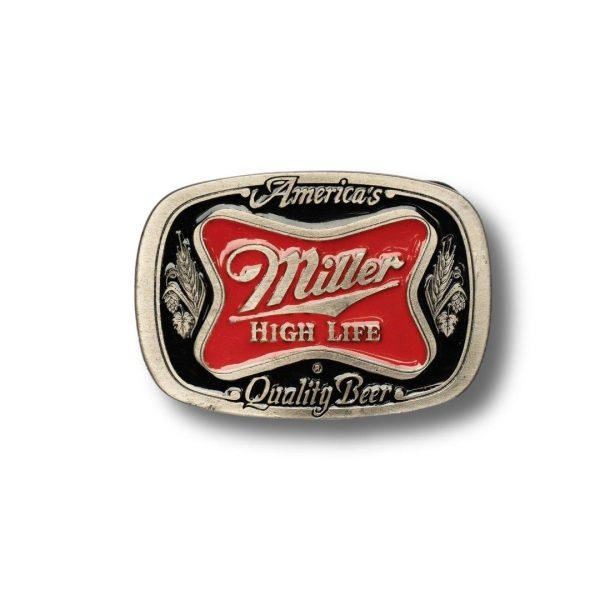 Miller Beers High Life Buckle